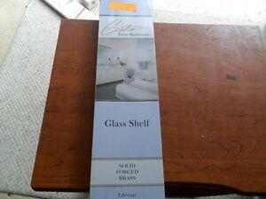 Gatco Designer II Solid Brass Shelf Brass Finish- 5087