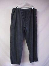 NWT Men's FUBU Lounge Pants Size 1XL Black/Grey #309D