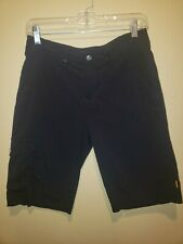 Lucy Black  Bermuda Long Shorts Size 2