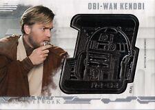 Star Wars Masterworks 2017, Droid Medallion Card 'Obi-Wan' #31/40