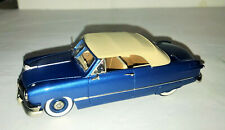 1/43 Diecast Motor City USA MC-10 1950 Ford Custom Deluxe Convertible Blue