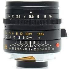 Leica 35mm f1.4 Summilux-M Asph Lens with Hood (Black)