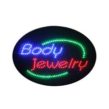 New Animated Body Jewelry Shop Led Light Neon Sign