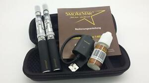 Doppelset  CE4 ego_Ce5 2x eGo_T CE5 E Shisha  + Etui +10ml E-Liquid, E Zigarette