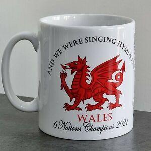6 Nations  - Wales! Champions - mug