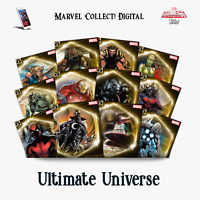 Topps Marvel Collect Digital - Ultimate Universe super are Set (cc750)