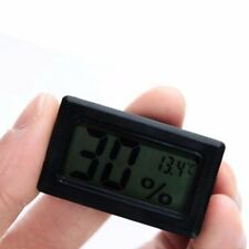 Indoor/Outdoor Monitor Meter Digital Display LCD Hygrometer Humidity Thermometer