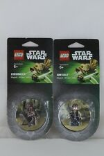 Star Wars Lego Set of 2 New Minifigure Magnets ~ Han Solo & Chewbacca