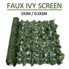 Artificial Faux Ivy Leaf Privacy Fence Screen Garden Décor Panels Outdoor Decor