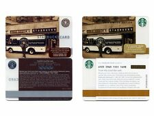 NEW NEVER USED 2008 Tradition 'Old Logo' & 2014 Tradition Starbucks Cards