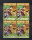 Philippine Stamps 2021 Happy Grandparents Day Complete set,Block of 4 MNH