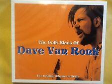 DAVE. VAN. RONK.        TWO. DISCS.    THE. FOLK. BLUES. OF.  DAVE. VAN.  RONK.