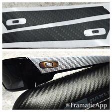 Oakley Gascan - Black Carbon Fiber Vinyl Skin 1/2 Wrap