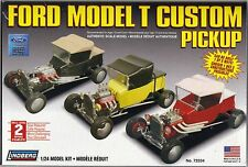 Ford Model T Custom Pickup  LINDBERG MODEL KIT 1/24 NEW CAN BE BUILT 1 0f 3 WAYS