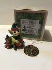 """""""Santa's Helpers� Whimsical World Of Pocket Dragons With Box And Ornament"""