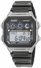 Casio Men's Digital Watch with Resin Strap – AE-1300WH-8AV