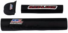 REDLINE BMX   BMX  Classic BMX Pad Set Black VINTAGE OLD SCHOOL new