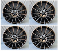 4PC 20 INCH MERCEDES GUNMETAL EDT E63 RIMS WHEELS SET4 NEW FITS E350 E320 E300 A
