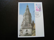 FRANCE - carte 1er jour 17/9/1977 (tour abbatiale de saint-amand) (cy39) french
