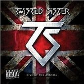 Twisted Sister - Live At The Astoria (CD+DVD, 2008) Brand new and sealed