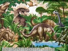 Timeless Treasures Dinos Dinosaurs Jurassic Fabric