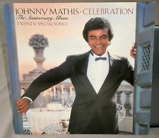 JOHNNY MATHIS CELEBRATION THE ANNIVERSARY ALBUM TWENTY SPECIAL SONGS CBS 10028