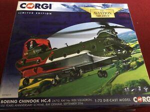 CORGI AVIATION 1:72 BOEING CHINOOK HC.4 ZA712 NO18B SQN RAF ODIHAM 2016