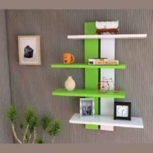 Tree Shape Wooden Wall Shelves/Book Shelves/Wall Racks/Rack Shelf for Living Roo