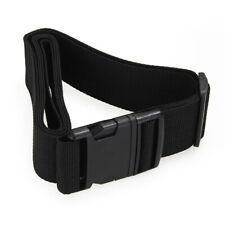 Luggage belt strap Belt Cord Rope Black for Suitcase Travel Bag 2M O8W6