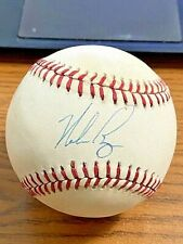 Nolan Ryan 6 Signed Autographed Onl Baseball! Astros, Mets, Rangers! Jsa!