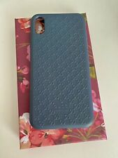 Gucci Case For Iphone XS MAX with Logo Blue Navy Rubber