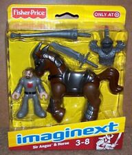 FISHER-PRICE IMAGINEXT KNIGHTS - SIR ANGUS & HORSE - TARGET EXCLUSIVE - NEW RARE