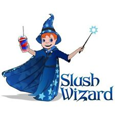 Premium Slush Syrup 4 x 5L - Slush Wizard Blue Raspberry