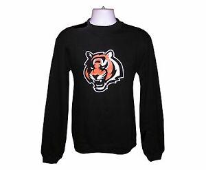 Nfl Mens Apparel - Cincinnati Bengals Reebok NFL Crew Sweatshirt, nwt, LARGE