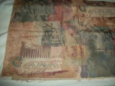 TAPESTRY / UPHOLSTERY  FABRIC 1 PIECE  1/2  YARD  LOVELY MULTICOLOR NEW