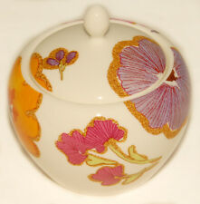 LENOX - Floral Fusion - Pink Purple Flowers - Lidded SUGAR BOWL *BRAND NEW!