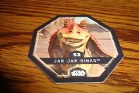 #53 JAR JAR BINKS Disney Winn-Dixie Bi-Lo STAR WARS COSMIC SHELL Collectable
