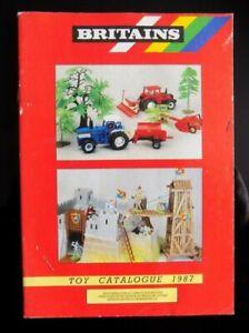 1987 BRITAINS  CATALOGUE,DIE CAST RANGE.UK FREEPOST