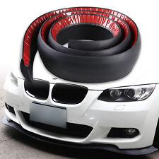 90 Inch Foam Front Bumper Kit Splitter Chin Spoiler Valance EZ Fit
