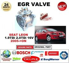 FOR SEAT LEON 1.9TDi 2.0TDi 16V 2005-ON Pneumatic EGR VALVE with GASKETS/SEALS