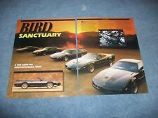 "1991 Pontiac Trans Am GTA Formula 1LE & SLP Vintage Info Article ""Bird Sanctuary"