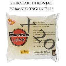 Shirataki Di Konjac Formato Tagliatelle -Box Risparmio City Aroma 20 X 200 Gr.