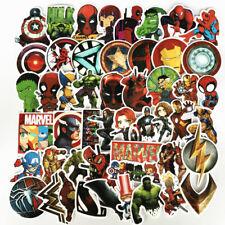50Pcs/Lot Marvel Мстители супер герой постоянного тока наклейки для автомобиля ноутбука туфли наклейки