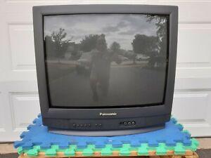 "20"" Inch Panasonic CT-20G5B CRT Tube Television (Working 100%) BLACK 2000"