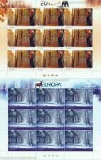 EUROPA CEPT 2011 WALD - MAKEDONIEN 593-94 KLEINBOGEN **