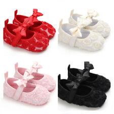So Lovely Baby Girls Pram Shoes Infant Child Princess Dress Shoes 3 6 9 12 18 M