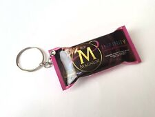 MAGNUM Ice Cream INFINITY Raspberry KEYCHAIN Keyring Novelty Indonesia 3D 3""