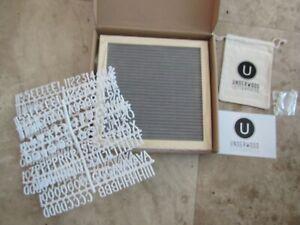 NEW Underwood Letter Press, felt letter board