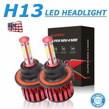 2x H13 9008 LED Headlight Bulbs Conversion Kit High Low Beam 6000K 200W 20000LM