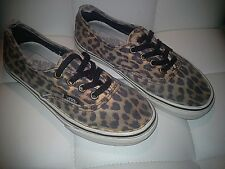 Vans-Van Doren-Unisex-Leopard Print/Black-Classic-Shoes-Size:Men's:4 Women's:5.5